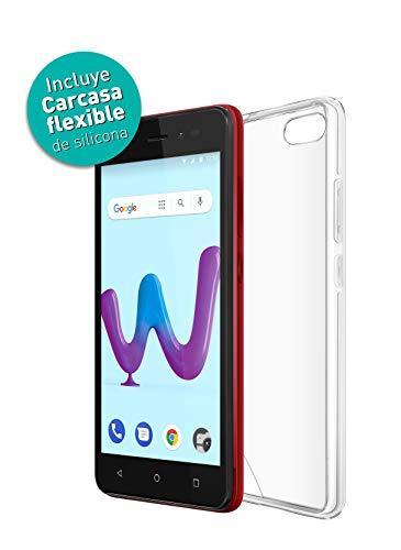 Wiko Sunny3 Smartphone Portable débloqué 3G+ (Ecran: 5 Pouces - 8 Go - Double Micro-SIM Android) Rouge
