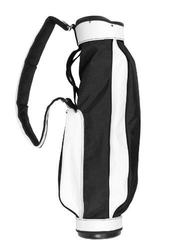 JONES GOLF BGS Original Jones Golf Bag, Black/White