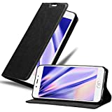 Cadorabo Book Case Works with ZTE Nubia N2 in Night Black -