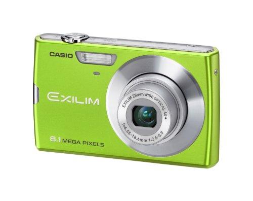 Casio Exilim Zoom EX-Z150 - Cámara Digital Compacta 8.1 MP (3 Pulgadas LCD, 4X Zoom Óptico), Verde