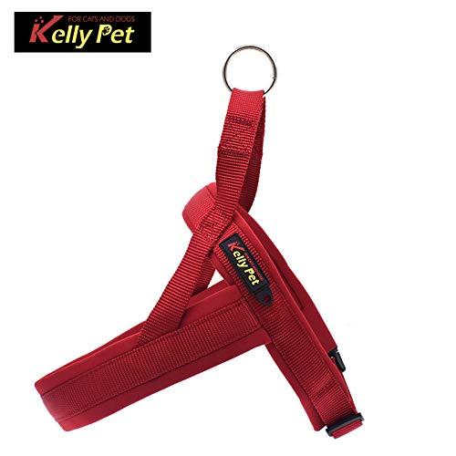 Hoomall Hundegeschirr für Große Anti Zug Geschirr Kleine Mittlere Hunde Brustgeschirr Dog Harness Weich Gepolstert Atmungsaktiv XS S M L