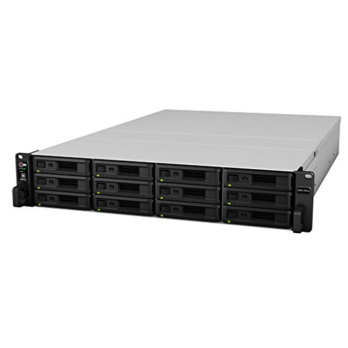 Synology RackStation RS3617RPxs NAS Rack (2U) Ethernet LAN Zwart, Grijs