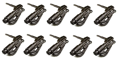 Resqme Car Escape Tool Black (10 Pack)
