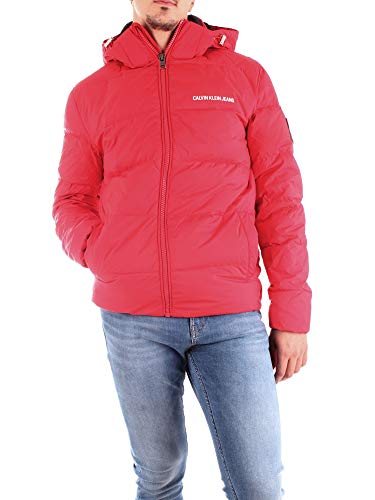 Calvin Klein Jeans Herren Winterjacke rot XS
