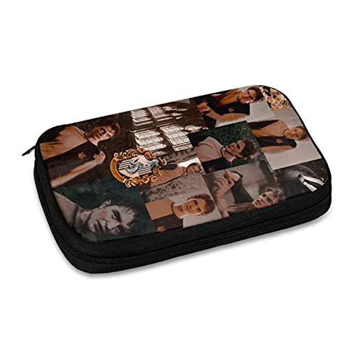 Robert Pattinson Data Line Bolsa de almacenamiento de línea de viaje, bolsa de almacenamiento de accesorios electrónicos, cargador USB, etc. Bolsa de almacenamiento de viaje multifunción