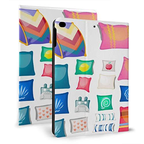 Ipad Book Cover Colorful Pillows Cute Shape Ipad Cover Bag For Ipad Mini 4/mini 5/2018 6th/2017 5th/air/air 2 With Auto Wake/sleep Magnetic Ipad Protective Cover