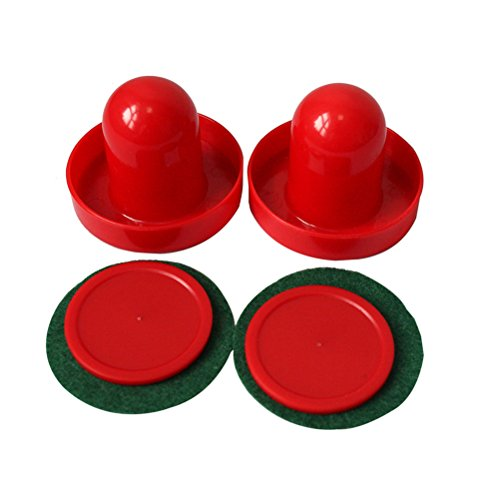 Bestim incuk Mini Air Hockey 60 mm Torhüter 50 mm Pucks Set Filz Pusher CN Verkäufer