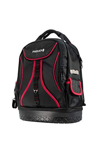 PARAT Werkzeugtasche Basic Back Pack (für ca. 50 Werkzeuge, mit Tabletfach, verstärkter Taschenboden) 5990830991, schwarz