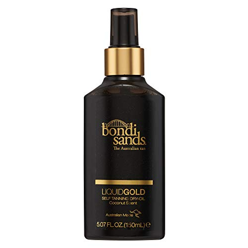 Bondi Sands Liquid Gold Self Tanning Dry Oil | Hydrating, Quick Drying, Gradual Tanning Dry-Oil for a Natural, Golden Look | 5.07 oz/150 mL