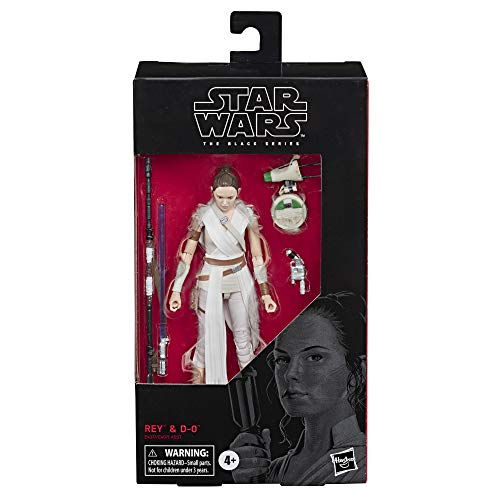 """Star Wars The Black Series Rey & D-O Toy 6"""" Scale Collectible Action Figure, Kids Ages 4 & Up"""