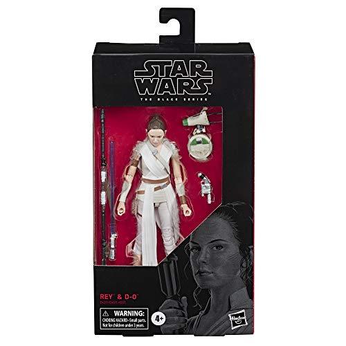 Generic Star Wars The Black Series Rey Toy 6