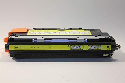HP Compatible (HEWLETT PACKARD) Q2672A 3500 3550 3500n 3550N LaserJet cartucho de tóner amarillo