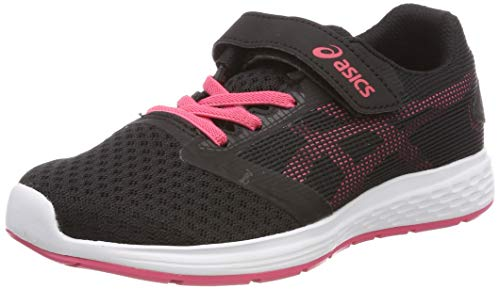 Asics Patriot 10 PS, Zapatillas de Running para Niños, Multicolor (Black/Pink Cameo 003), 28.5 EU