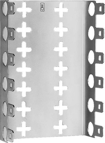 3M 79151060 LSA-Plus Montagewanne, 79151-534 00, Baureihe 2, Raster 25 mm, Tiefe 22 mm für 3 Leisten, Metal (8-er Pack)