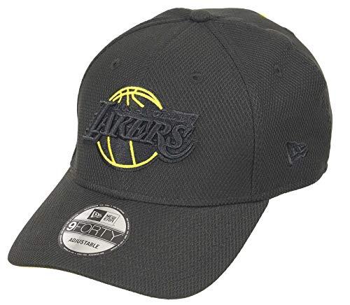 New Era Los Angeles Lakers 9forty Adjustable Snapback cap NBA Colour Pop Black - One-Size