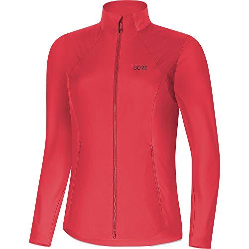 GORE WEAR Damen R5 Long Sleeve Shirt Gore Windstopper, Hibiscus pink, 40