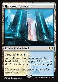 Magic: The Gathering - Hallowed Fountain - Ravnica Allegiance