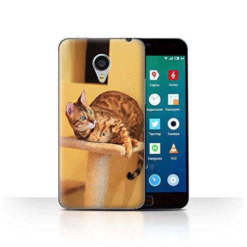 Stuff4® Hülle/Case für Meizu MX4 Pro/Bengalkatze Muster Katze/Katzenrassen Kollektion