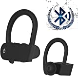 Auriculares Bluetooth 5.0 Auricular Inalámbrico Control Táctil con Graves Profundos In-Ear Auriculares Bluetooth con Caja de Carga Rápida IPX5 Impermeables,para Android/iPhone/Apple AirPods/Samsung