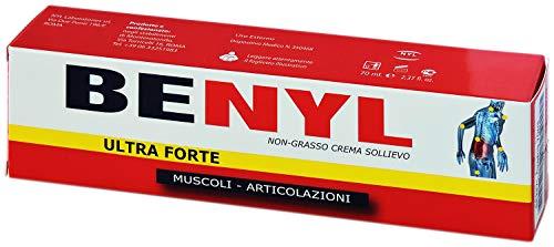 Benyl crema ultra forte 70 ml. Dolori muscolari e articolari.