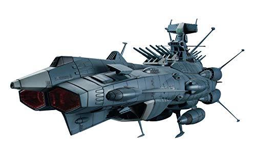 宇宙戦艦ヤマト2202 地球連邦 アンドロメダ級DX 1/1000スケール 色分け済みプラモデル
