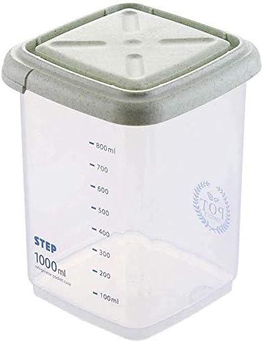 Sealed Latest item food storage container Kitchen Storag OFFicial site Plastic Transparent