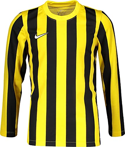 NIKE Camiseta de Manga Larga Unisex para niños Dvsn IV JSY, Unisex niños, CW3825-719, Amarillo (Tour Yellow/Black/White), 10/12 años