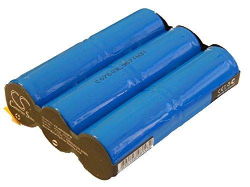 vhbw Batterie Convient à Bosch cisailles à Gazon sans Fil AGS 10-6, AGS 70 & Taille-Haies sans Fil AHS 18 remplace Accu6 - (NiMH, 3600mAh, 7.2V)