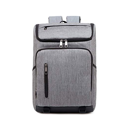 SHRAY Backpacks/Sleeves Fashion Large Capacity Casual Breathable Notebook Tablet Backpack, Product Size: 42cmx29cmx12cm (Color : Blue) Dark Gray