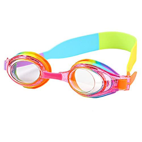 CeruleTree Kids Swimming Goggles, Kids Swim Goggles 3D Fit, Flexible Nose...