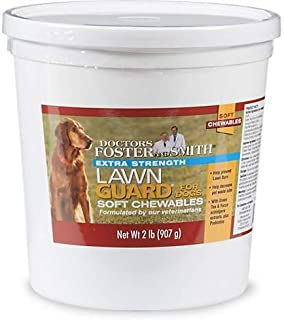 DRS. Foster and Smith Extra Strength Lawn Guard Soft Chews for Dogs