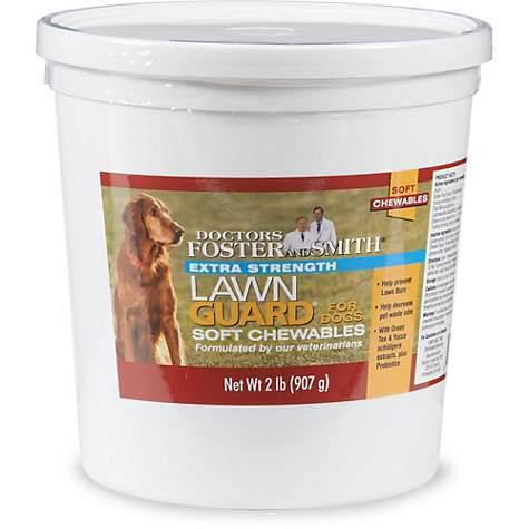 DRS. Foster and Smith Extra Strength Lawn Guard Soft Chews for Dogs (2 LBS)