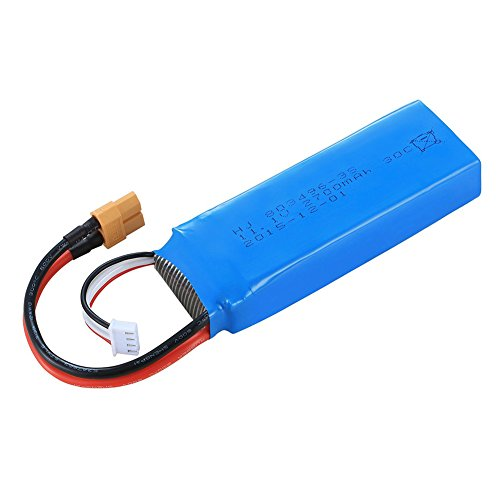ShiningLove Cheerson CX-20 Battery 11.1v 2700mah Replacement Drone Battery Blue