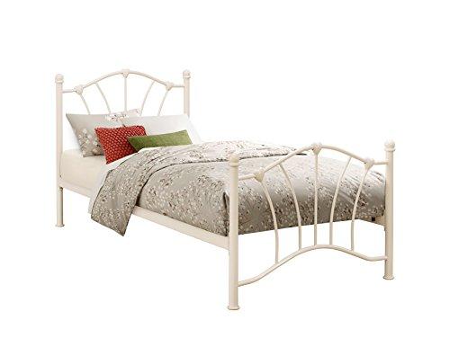 Birlea Sophia Bed - Metal, Cream, Single