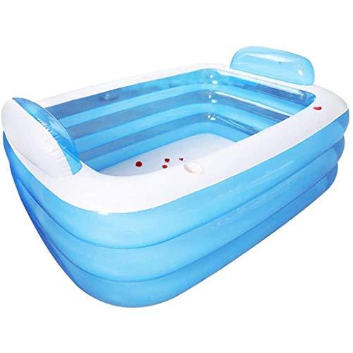 YWSZJ Inflable portátil Bañera Bañera Plegable for Adultos Espesado baño en barrica, los niños de la Cuenca del baño