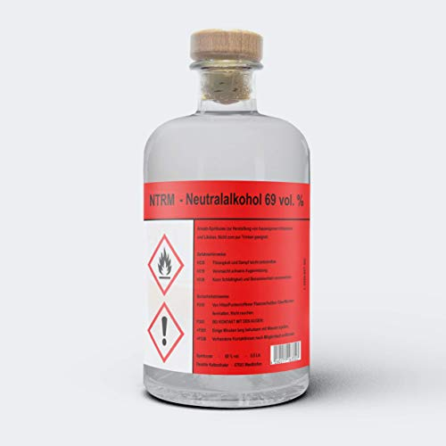 NTRM (1x 0.5l) 69% vol. Neutralalkohol Ansatzspirituose Alkohol