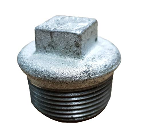 Stopfen 1 1/4 Zoll Temperguss verzinkt_- = -_ Auch Stahlrohr Rohrbogen T-Stück Reduziermuffe Überwurfverschraubung Kappe Rückschlagventil Kugelhahn bei uns!