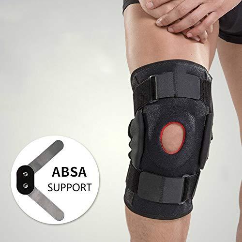 RZDJ 1PCS Baile del cojín del Protector de la Rodilla for la Artritis de Rodilla Brace Guardia Ayuda de la Manga de Ortopedia de la rótula de la Pierna Rodillera Wrap Voleibol (Size : XL)