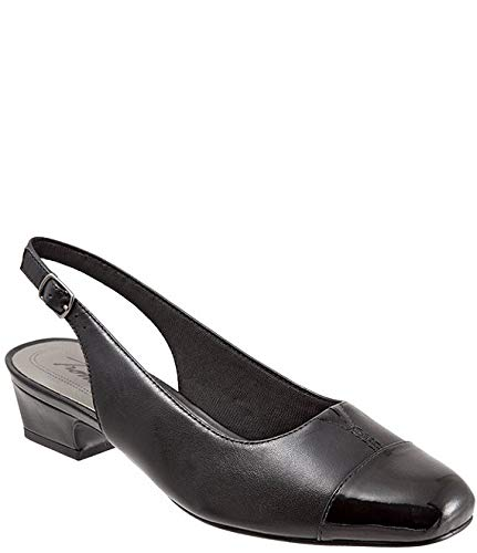 [トロッターズ] シューズ 25.0 cm パンプス Dea Slingback Block Heel Pumps Black レディース [並行輸入品]