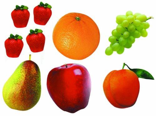 Ontdek accenten 54-22 x 15 x 1 cm groenten, verschillende kleuren