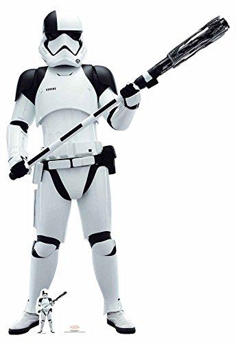 empireposter Star Wars - The Last Jedi - EP8 Executioner Trooper Pappaufsteller Pappfigur Standy ca. 181 cm