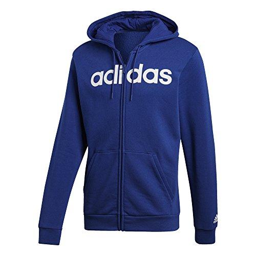 adidas Herren Kapuzen-Jacke Commercial Full Zip Fleece, Mystery Ink, 2XL, DM3128