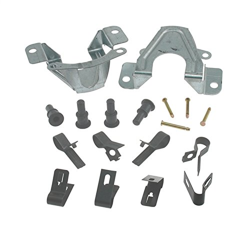 ACDelco 18K1544X Professional Front Disc Brake Caliper Hardware Kit with Clips, Pins, and Bushings