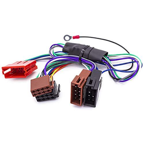 Adapter Kabel Auto Radio aktiv System ISO für Audi VW Porsche Seat Bose DSP