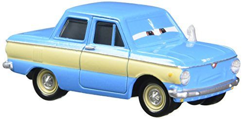 Disney Pixar Cars Vladimir Trunkov with Car Boot Die-Cast Vehicle