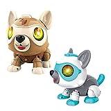Kongqiabona-UK 1pc DIY Sensor Inteligente Robot electrónico Perro Control de Voz Inducción magnética Juguete Interactivo para Padres e Hijos Color Aleatorio