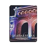 Cartel de estilo moderno de la ciudad de Guadalajara para viajes del mundo, estilo clásico, metal, bar, bar, decoración de pared, 30 x 40 cm