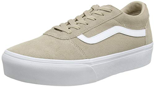 Vans Damen Ward Platform Sneaker, Beige ((Suede) Humus Vw3), 36 EU