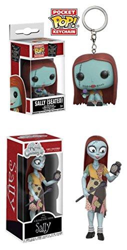 Funko Pocket POP! Pesadilla antes de Navidad: Sally + Rock Candy: Disney: Pesadilla antes de Navidad: Sally