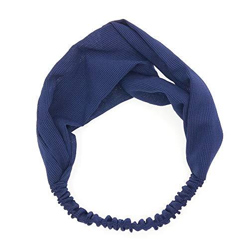 KAEHA FD-0001-24 knopen-sjaal, geweven, elastisch, voor dames en meisjes, eenkleurig, Army